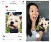 Instagram เปลี่ยนรูปหรือคลิปที่แชร์ผ่าน DM ทำเป็นสติกเกอร์ตอนตอบกลับ